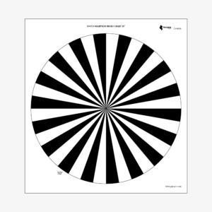 FOCUS-SHARPNESS-MICRO-CHART-10°-PRÊT-À-TOURNER