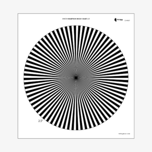 FOCUS-SHARPNESS-MICRO-CHART-2.5°-PRÊT-À-TOURNER
