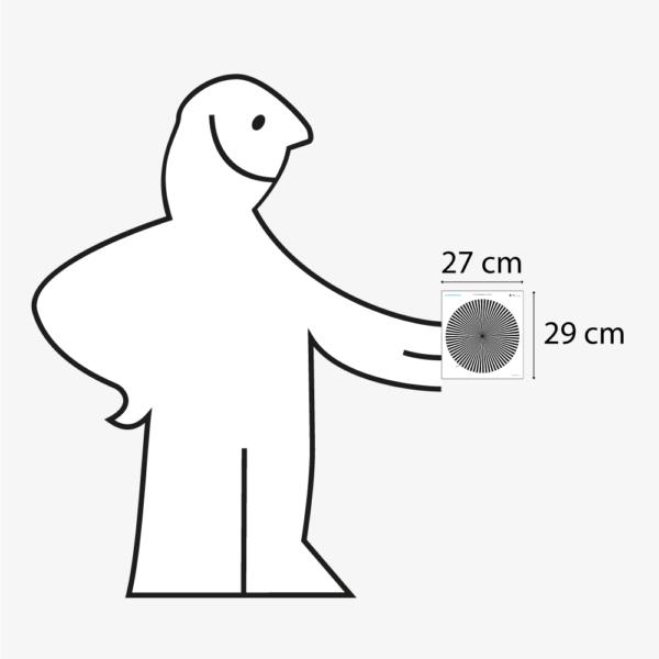 FOCUS-SHARPNESS-MICRO-CHART-2.5°-PRÊT-À-TOURNER-taille